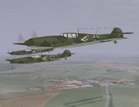 download game Flying Messerschmitt Bf109 3D