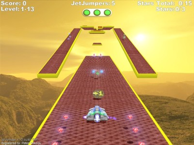 Screenshot of JetJumper