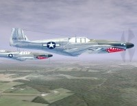 download game Flying P-51C Mustang 3D